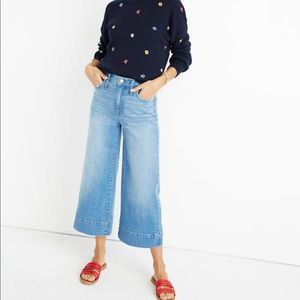 ✨MADEWELL CALI DEMI-BOOT CROPPED WIDE LEG SIZE 27✨